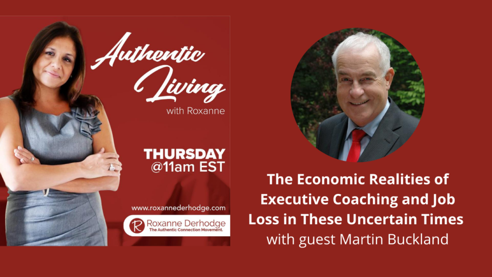 Martin Buckland on careers on Authentic Living with Roxanne